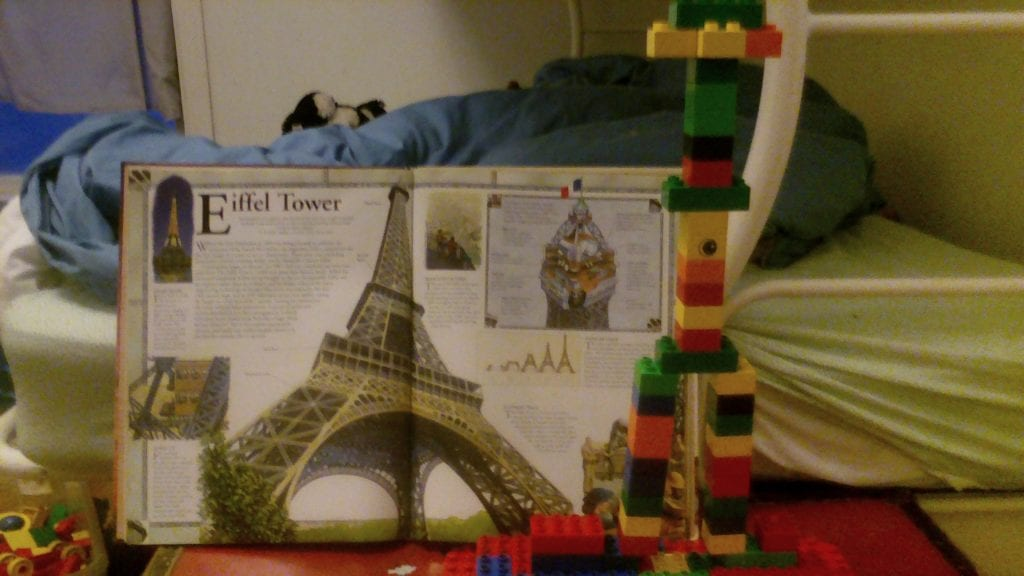 Building Project - The Eiffel Tower as executed by F