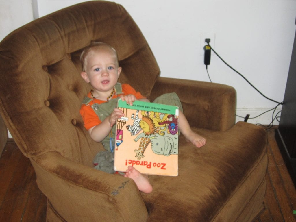 I can read like a big kid!