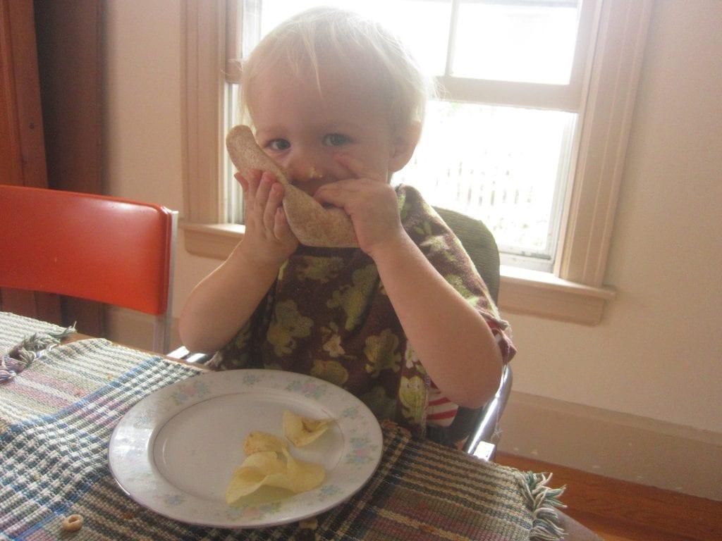 Kitchen Kids: Toddler Made Egg Salad