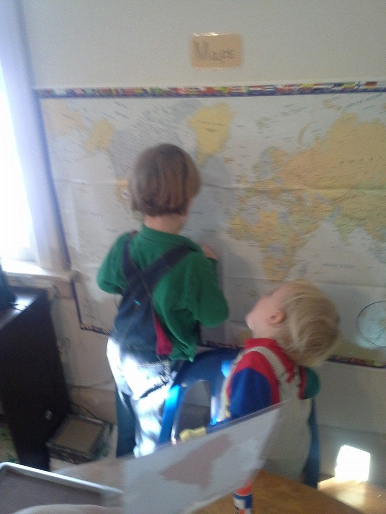 Brothers working together