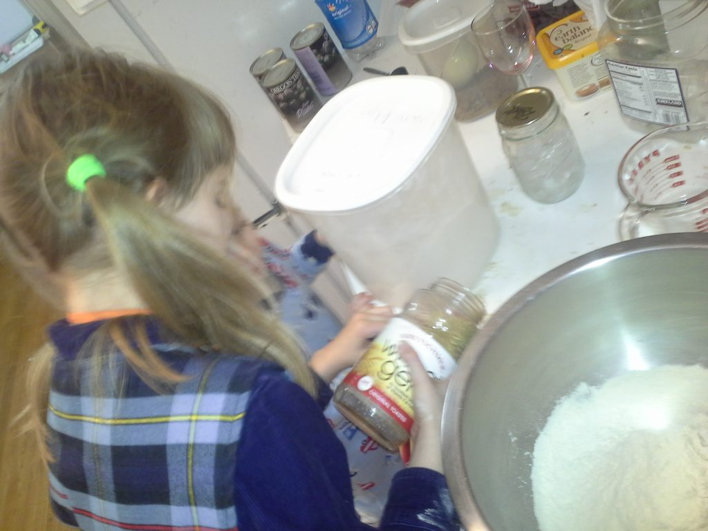 Adding wheat germ to the whole wheat flour