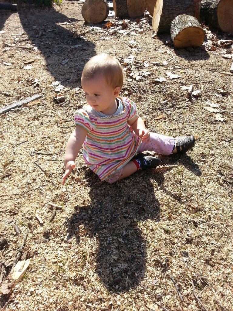 So cute, and such a monkey! Walking and climbing at ten months!