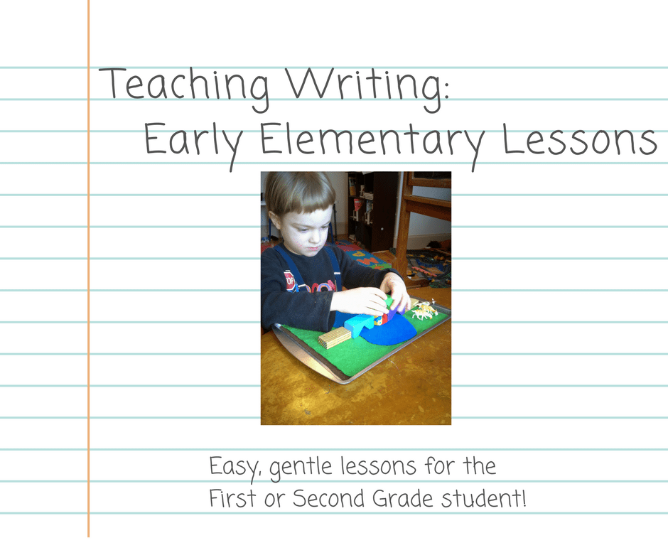 Gentle easy writing lessons