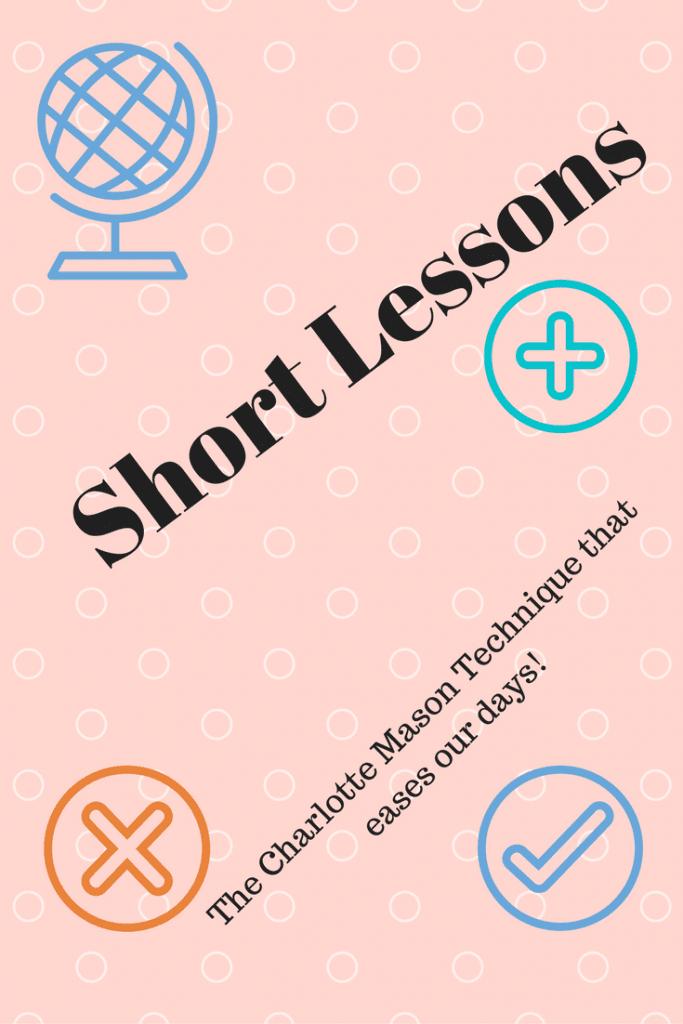 Charlotte Mason short lessons