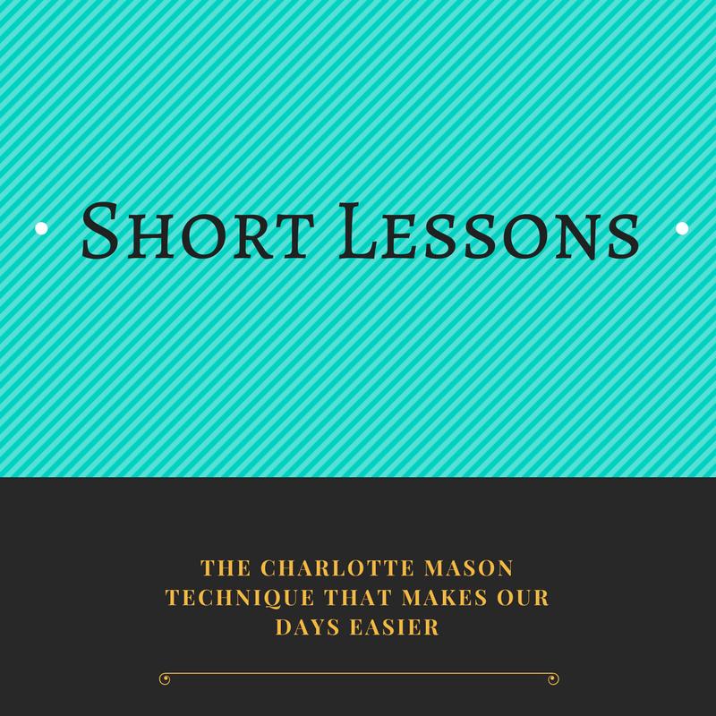 Short Lessons Charlotte Mason